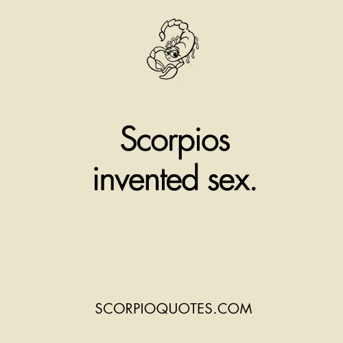 Scorpio Horoscope Sex 121