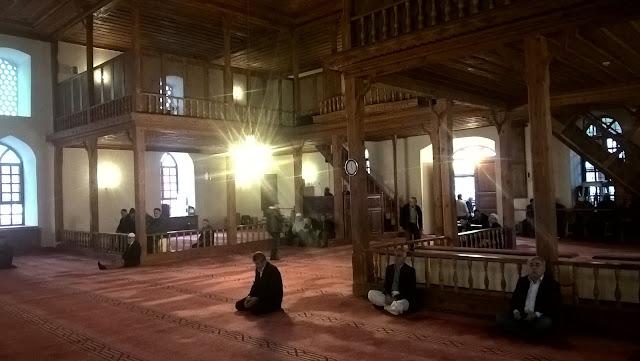 Taşköprü Kara Mustafa Paşa Camii içi - Taşköprü, Kastamonu