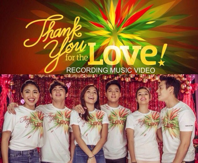 ABS-CBN releases Christmas Station ID 2015 Recording Music Video