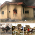 Delta Local Govt Election, No Election Results sheets, INEC Office in Ughelli Set Ablaze (Photos)