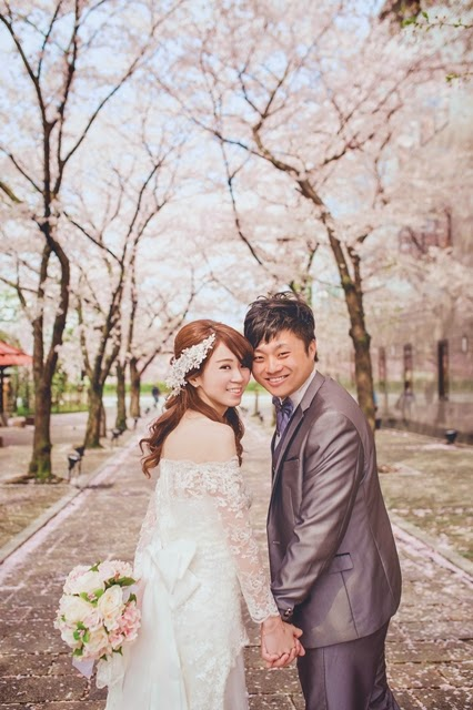 京都 櫻花 婚紗 白川