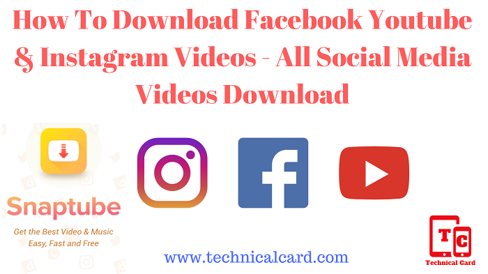 How To Download Facebook Youtube & Instagram Videos, How To Download Social Media Videos