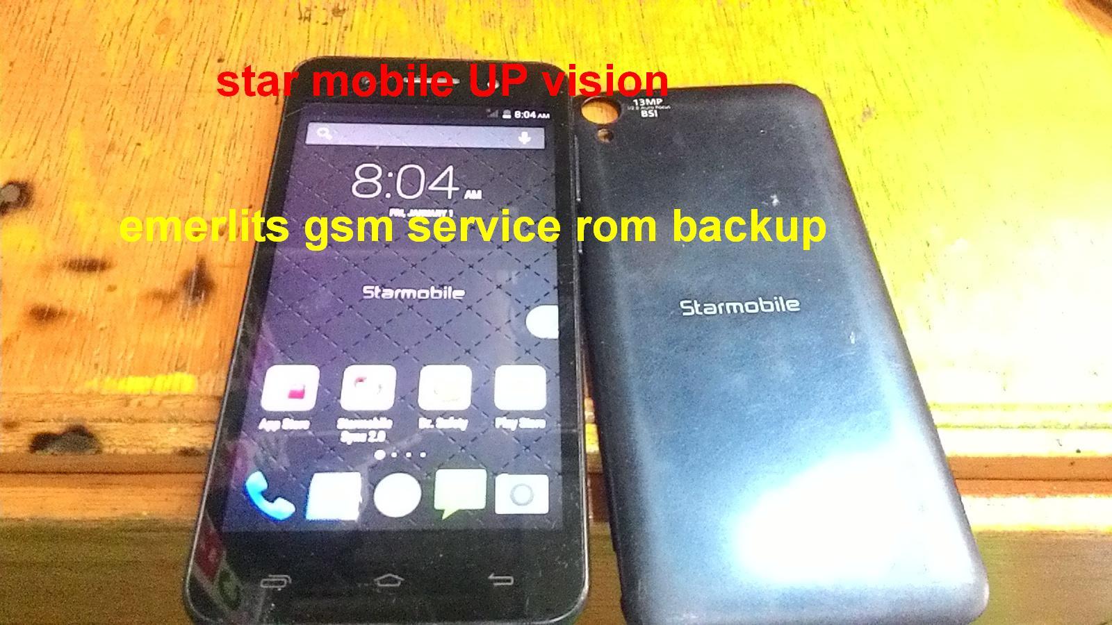 Star Mobile UP VISION V05 - Emerlits Gsm Service