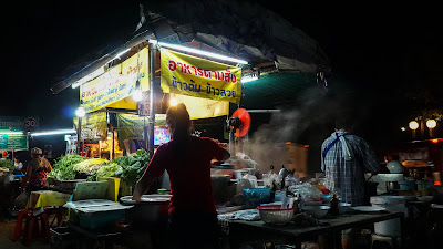 The stall in Chang Puak gate where I had my dinner at