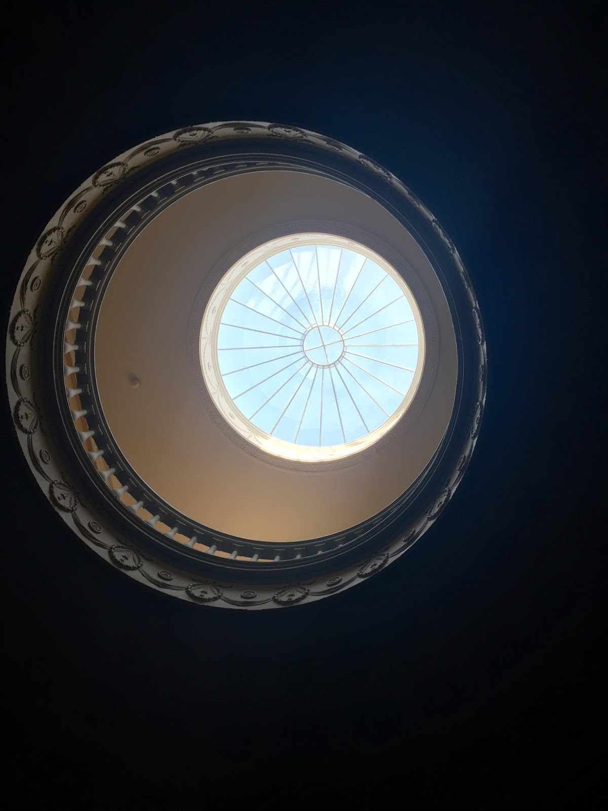 Light through a round window