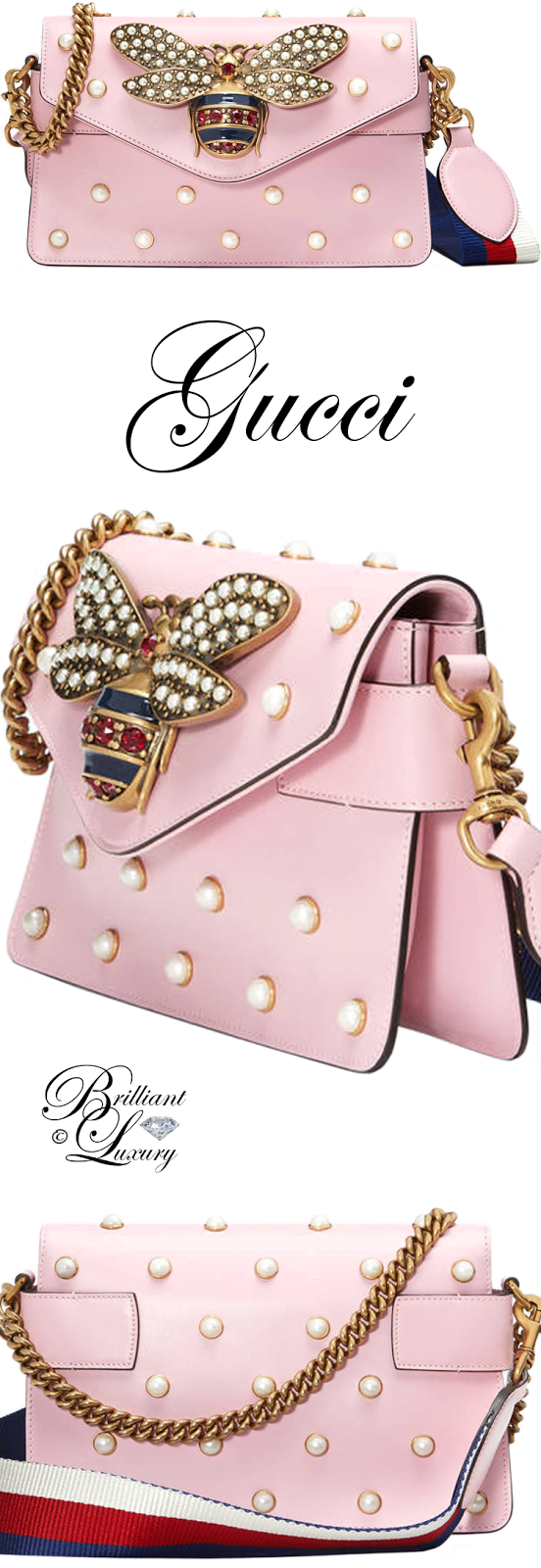 Brilliant Luxury ♦ Gucci Broadway Leather Mini Bag