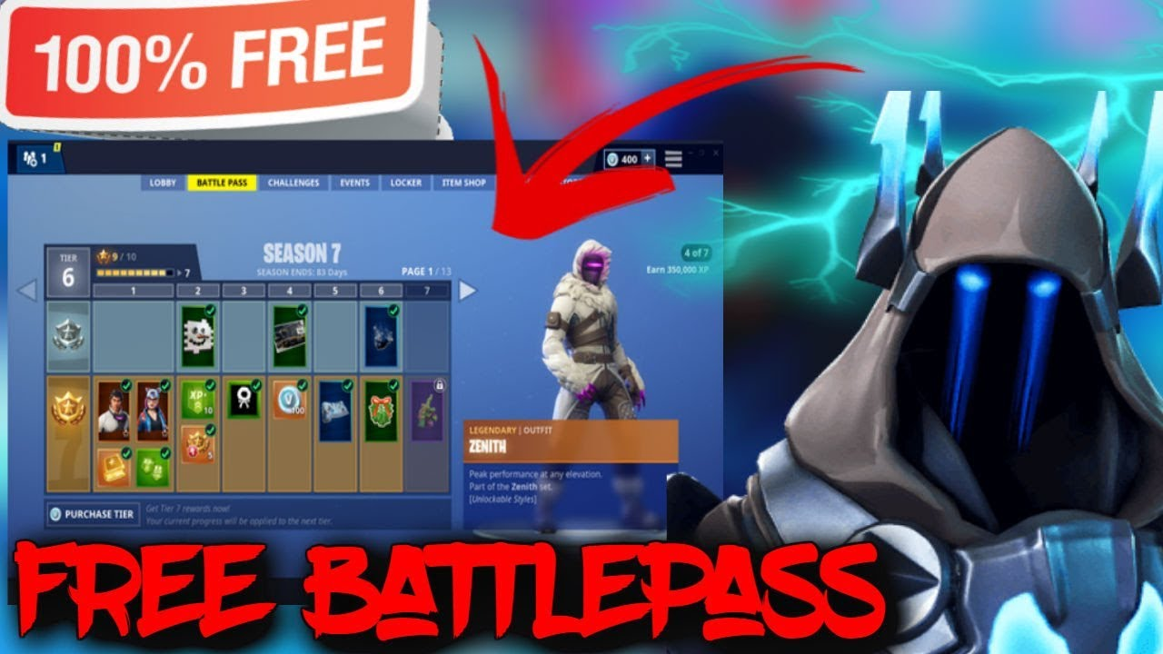 Fortnite Free Battle Pass Generator - Fortnite Battle Pass