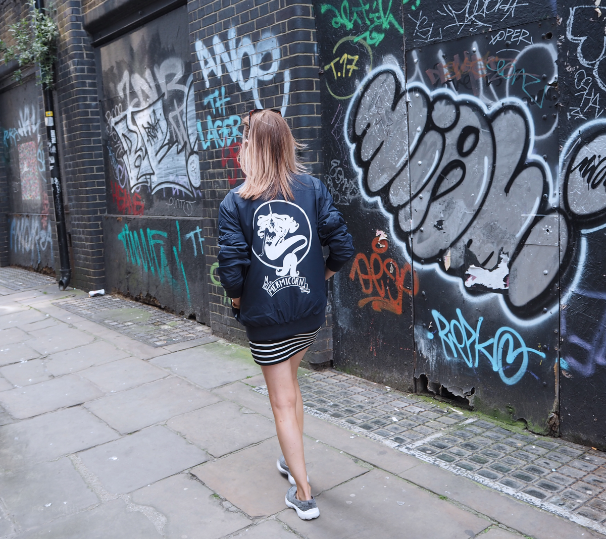 The Mermicorn Bomber Jacket from Rock On Ruby