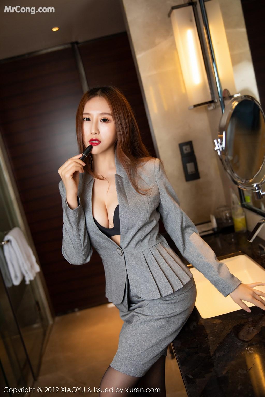 Image XiaoYu-Vol.096-Yue-Yin-Tong-MrCong.com-011 in post XiaoYu Vol.096: Yue Yin Tong (月音瞳) (54 ảnh)