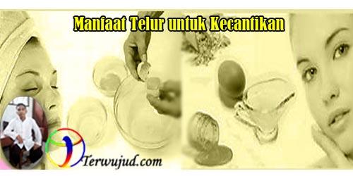 Telur, kecantikan
