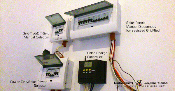 Solar Grid Tied / Off-grid Control Panel - Schadow1 Expeditions