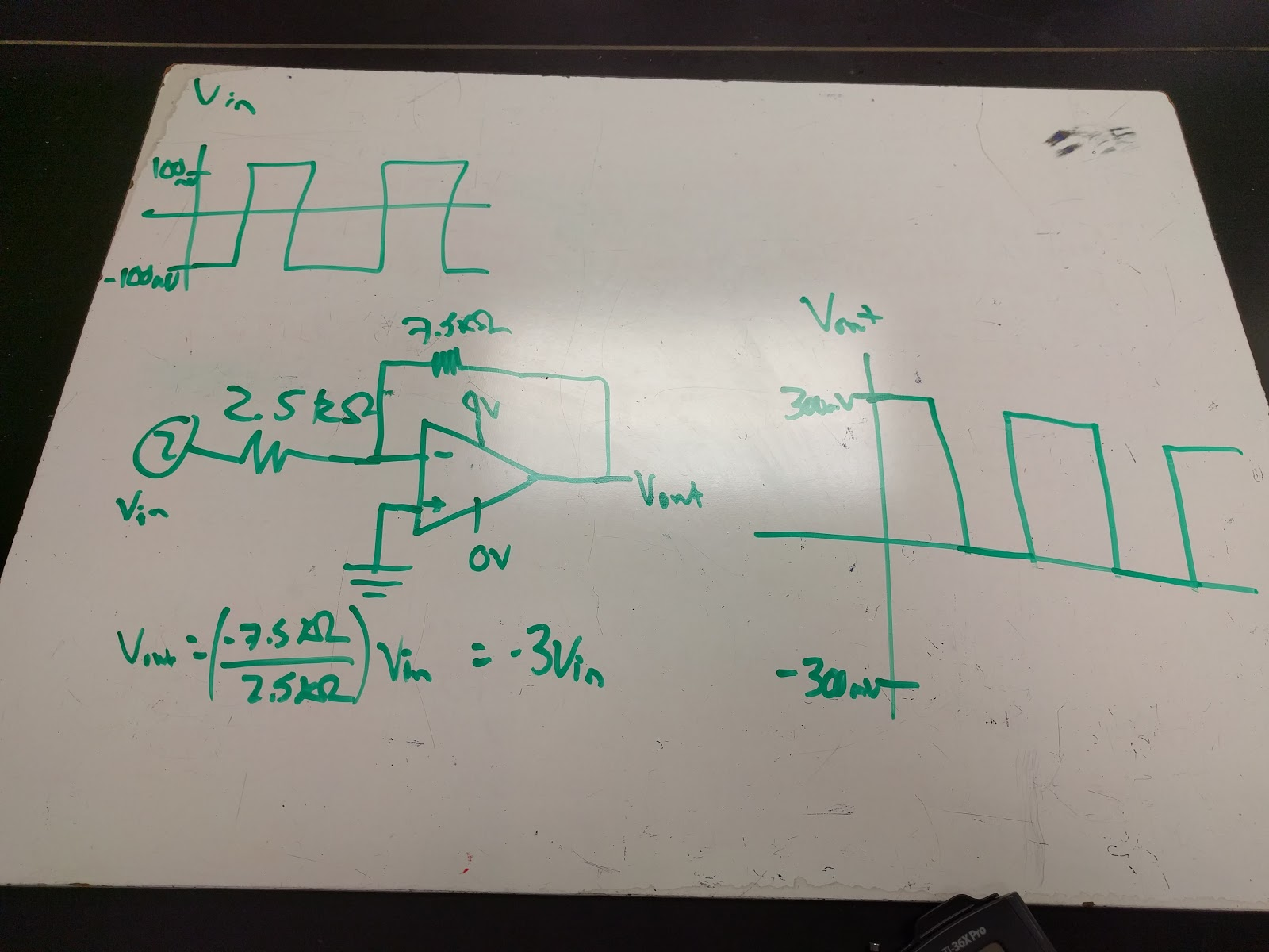 Inverting Summing Amplifier Calculations Operational Amplifiers Engineering Hynassman Day Op Amp Circuits And Non 1600x1200