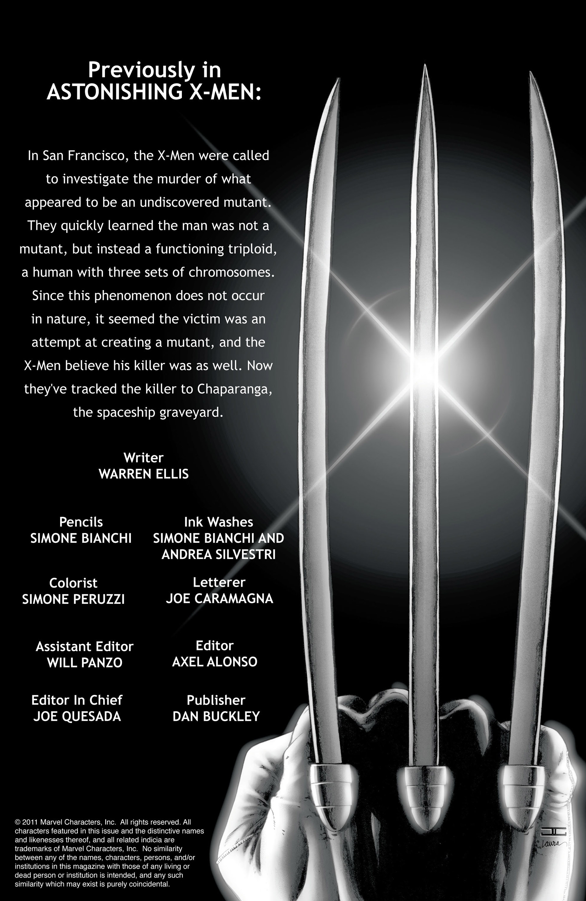 Read online Astonishing X-Men (2004) comic -  Issue #26 - 2
