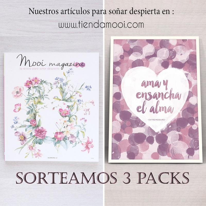 """Sorteo Mooi 02 + Lámina """"AMA"""""""