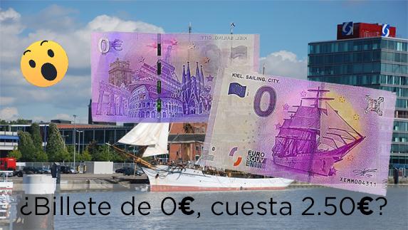 ¿Billete de 0€?..... Y vale 2.50 EUROOOss!!!!!