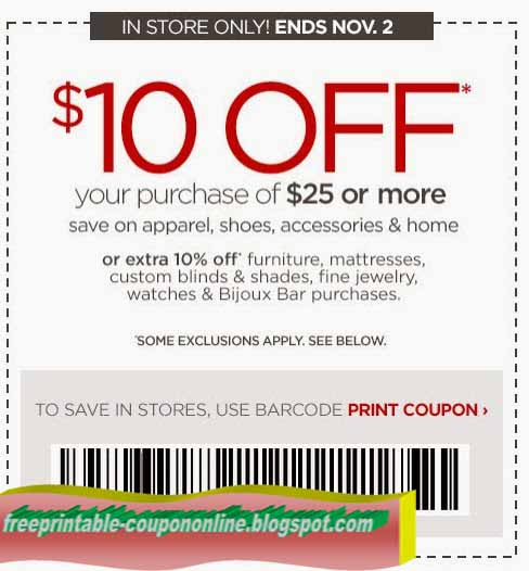 Jcpenney coupons 2018 in store