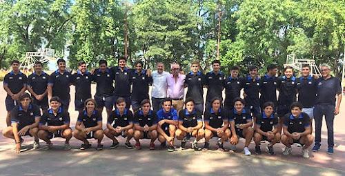 Santiago M18 viajó a Uruguay