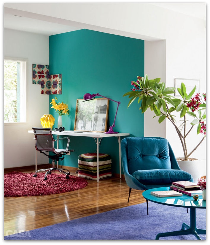 Apartment Guide App: Colorful And Funky Apartment In Brazil