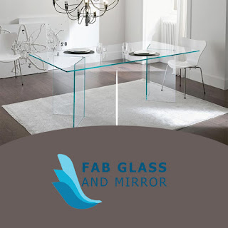 glass tables meeting room