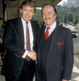 Foto Donald Trump dengan saudaranya Fred Trump Jr