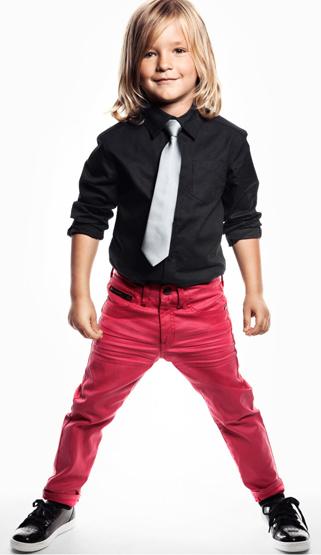 ropa niños fiesta H&M