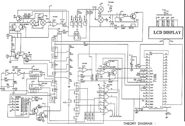Schéma capacimètre XC6013L de milena-sp.com