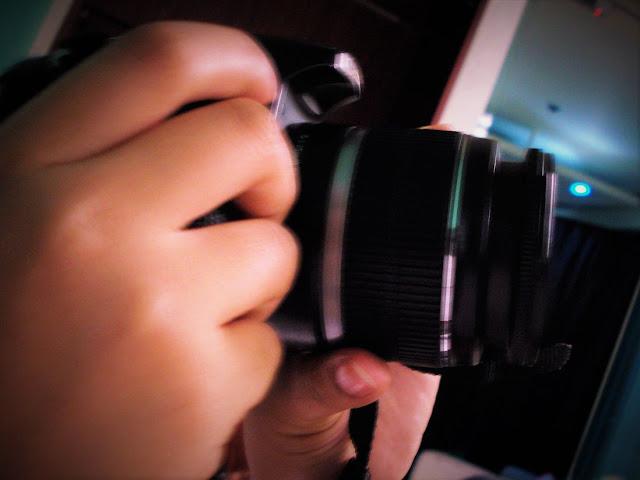 Close up of a camera