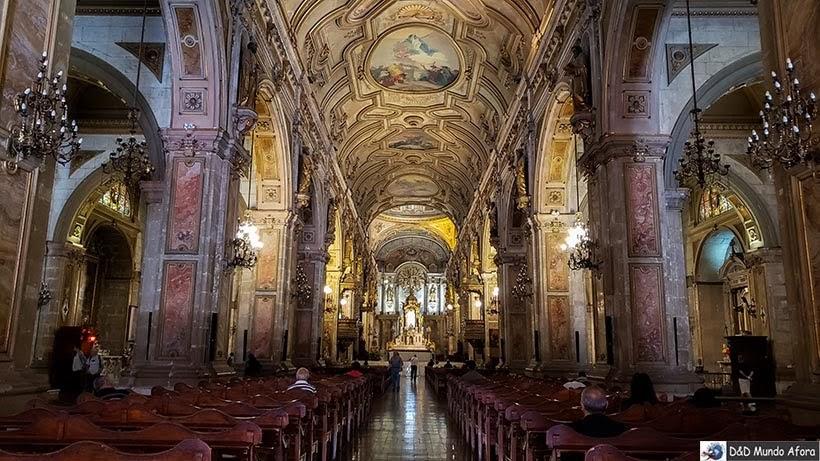 Catedral de Santiago - Diário de Bordo Chile: 8 dias em Santiago e arredores