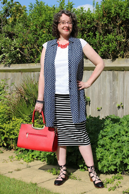 Dorothy Perkins Petite Maxi Shirt, Tube Striped Skirt, Embroidery Top, Topshop Ghillies   Petite Silver Vixen