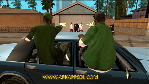 Download Grand Theft Auto: San Andreas Apk + Data v1.08 Android Full Latest Version 2017 Free