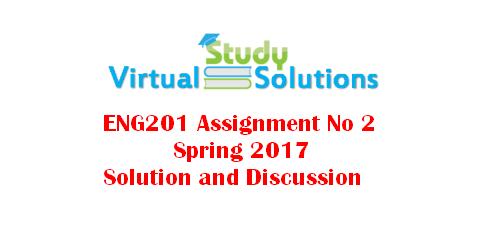 vu assignments solutions spring 2015