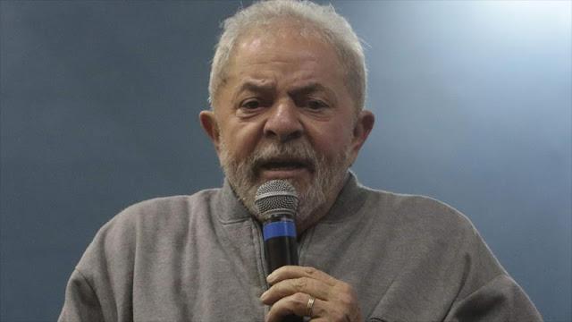 Justicia brasileña presenta cargos penales contra Lula y su mujer