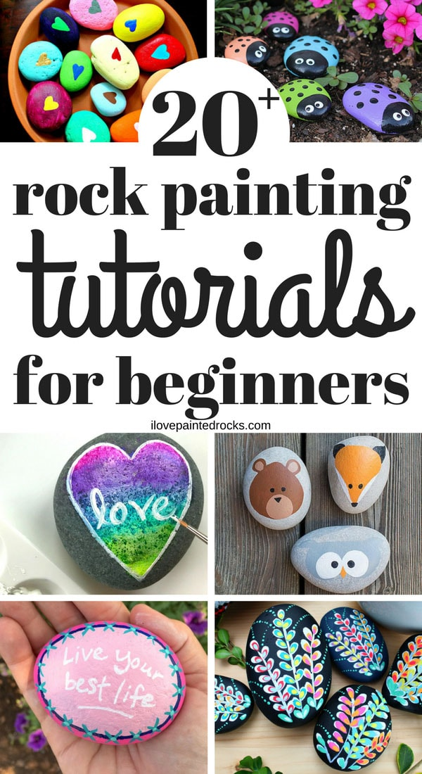 how to get started painting rocks