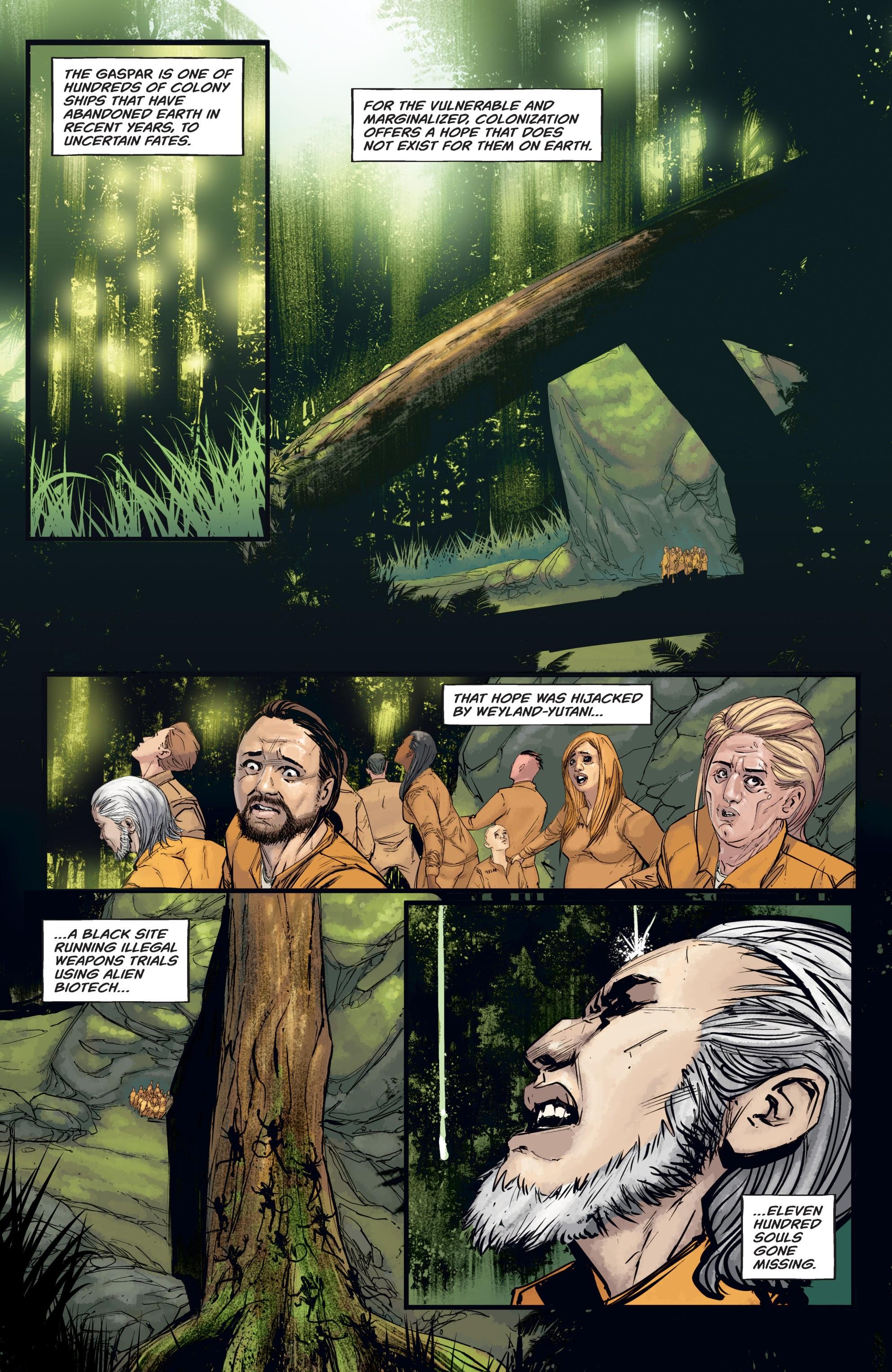 Read online Aliens: Resistance comic -  Issue # _TPB - 58