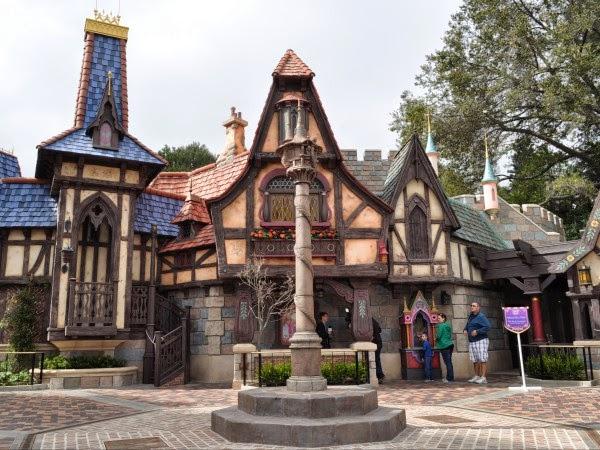 Fantasyland Disney na Califórnia