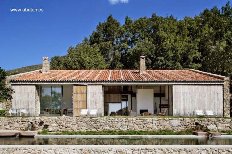 Finca en España diseño contemporáneo