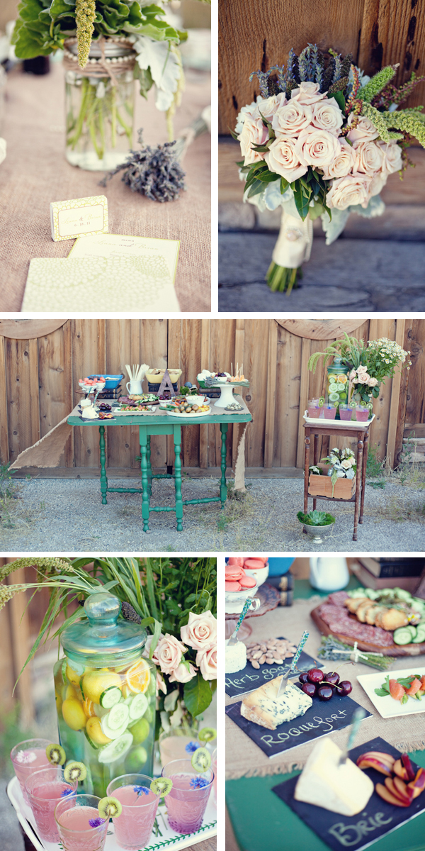 vintage farm to table styled wedding shoot | ae martin photography and leslie miller event design