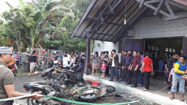 Ledakan Bom di Gereja Oikumene Samarinda
