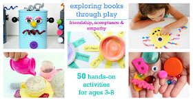 hands-on activities to explore social emotional development through children's books.