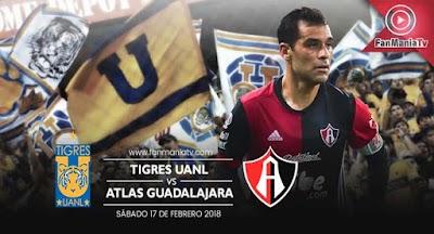 EN VIVO: Tigres UANL vs Atlas por la Liga MX Clausura 2018