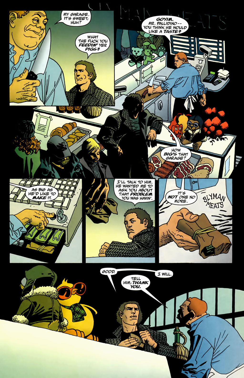Read online 100 Bullets comic -  Issue #70 - 6