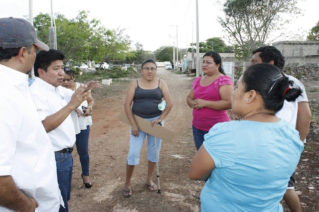 Garantizan seguridad patrimonial de pobladores de Acanceh