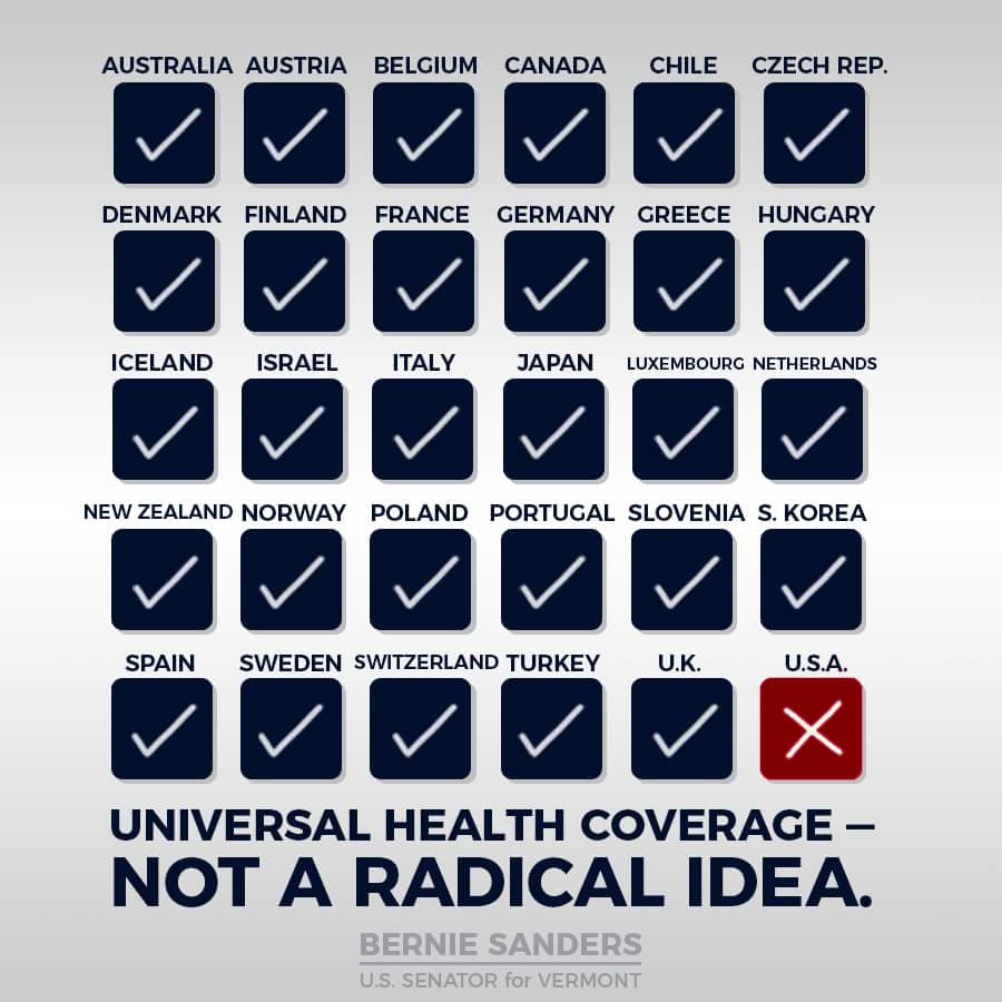 Re universal health care
