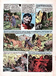 Valor v1 #3 ec comic book page art by Al Williamson