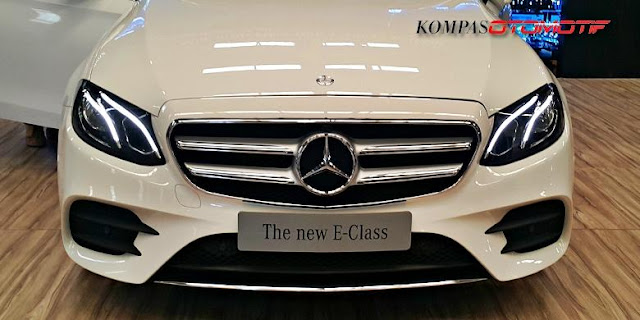 Sedan Mercy All New E-Class Lokal dan Completely Build Up