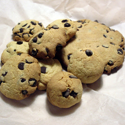 cookies con trocitos de chocolate