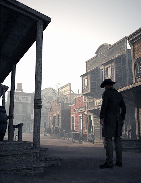 The Streets Of The Wild West