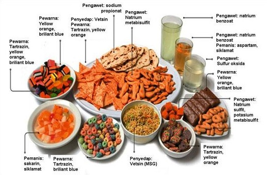 Bahaya Zat Aditif Pada Makanan Salty Light