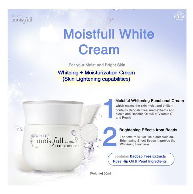 Moistfull White Cream (50ml) - Etude House