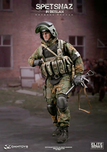 One Sixth Military Figure Dam Toys Spetsnaz In Beslan